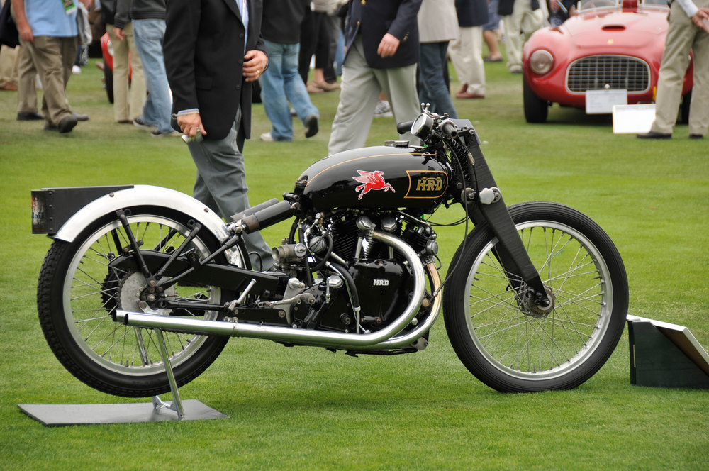 Rollie Frees 1948 Vincent-HRD Land Speed Record Holder