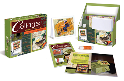 Collage Notecard Kit