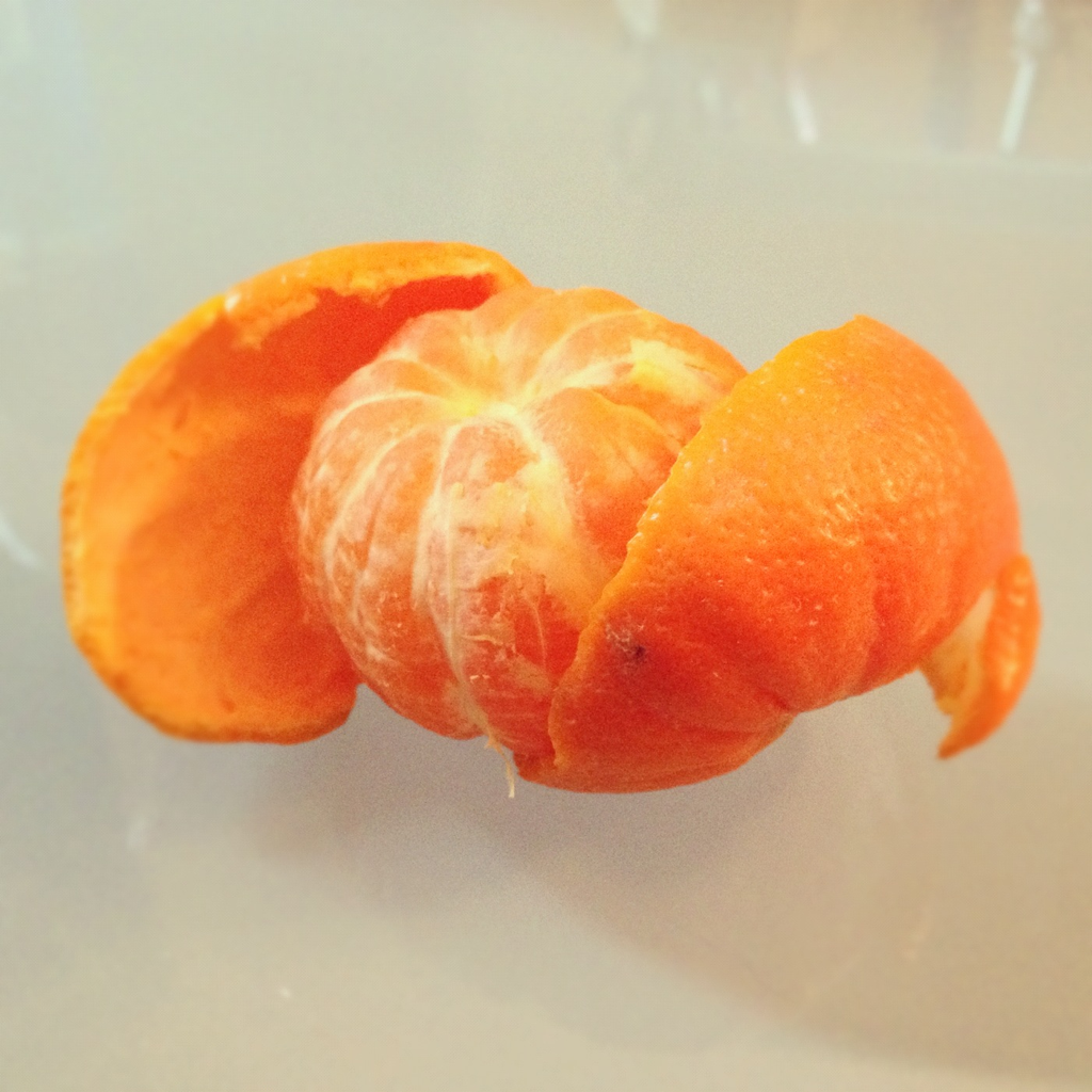 The perfect peel. :)