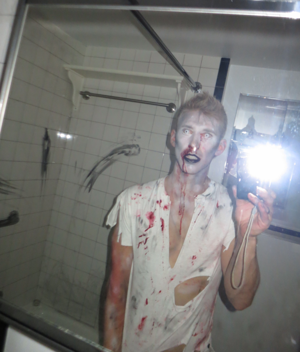 Eoin Sharkey Zombie Halloween Costume