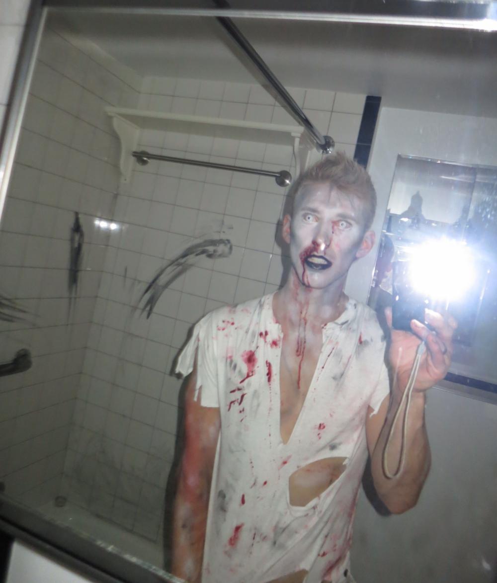 Eoin Sharkey Zombie Halloween Costume