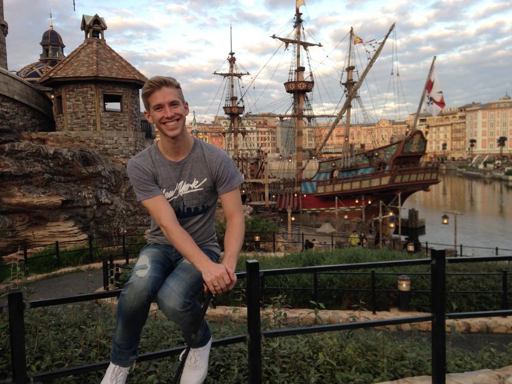 Taken @ Disneyland Tokyo SEa - November 10th, 2014