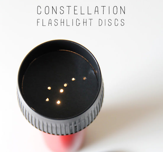 Light up the night of your favorite little person with a constellation flashlight.