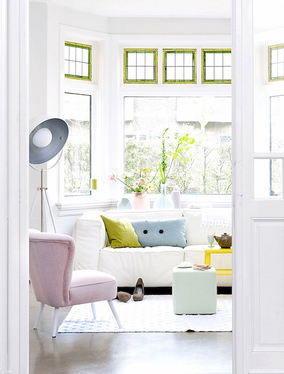 Talk about a space that makes you feel calm. Photo My Ideal Home