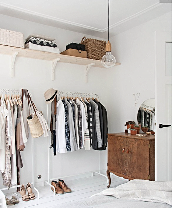 I've got closet envy. Photo  Domaine Home