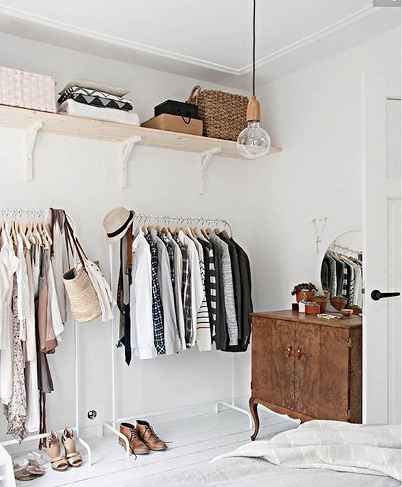 I've got closet envy. Photo Domaine Home
