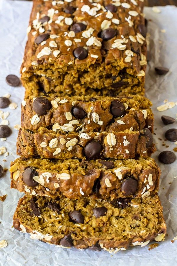 Pumpkin chocolate bread, anyone? --Well-Plated
