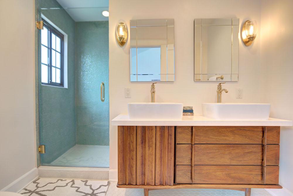 Beautiful Bath Niche Interior Design Santa Monica CA Interior
