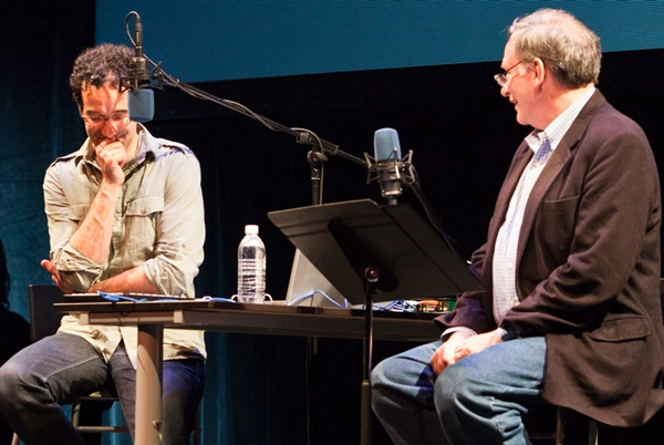 Some of today's most compelling science communicators take us to the edges of knowledge, where mystery lingers and feelings are complicated. Radiolab hosts Jad Abumrad and Robert Krulwich (Photo Jared Kelly via Flickr).
