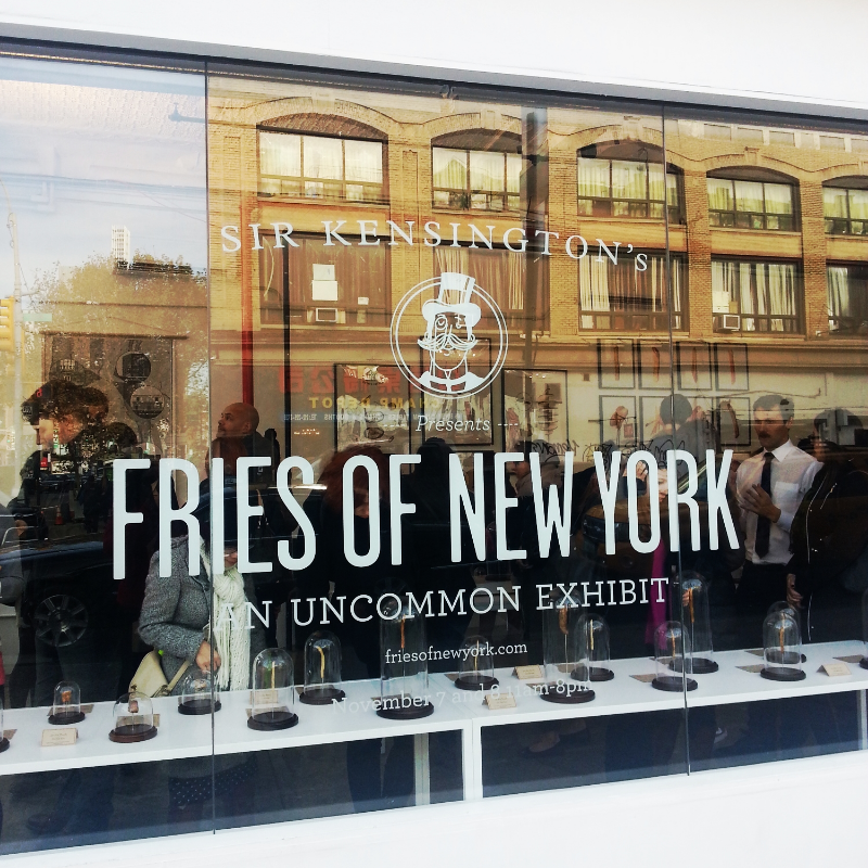 Fries of New York: An Uncommon Exhibit, New York, NY, November 7-8