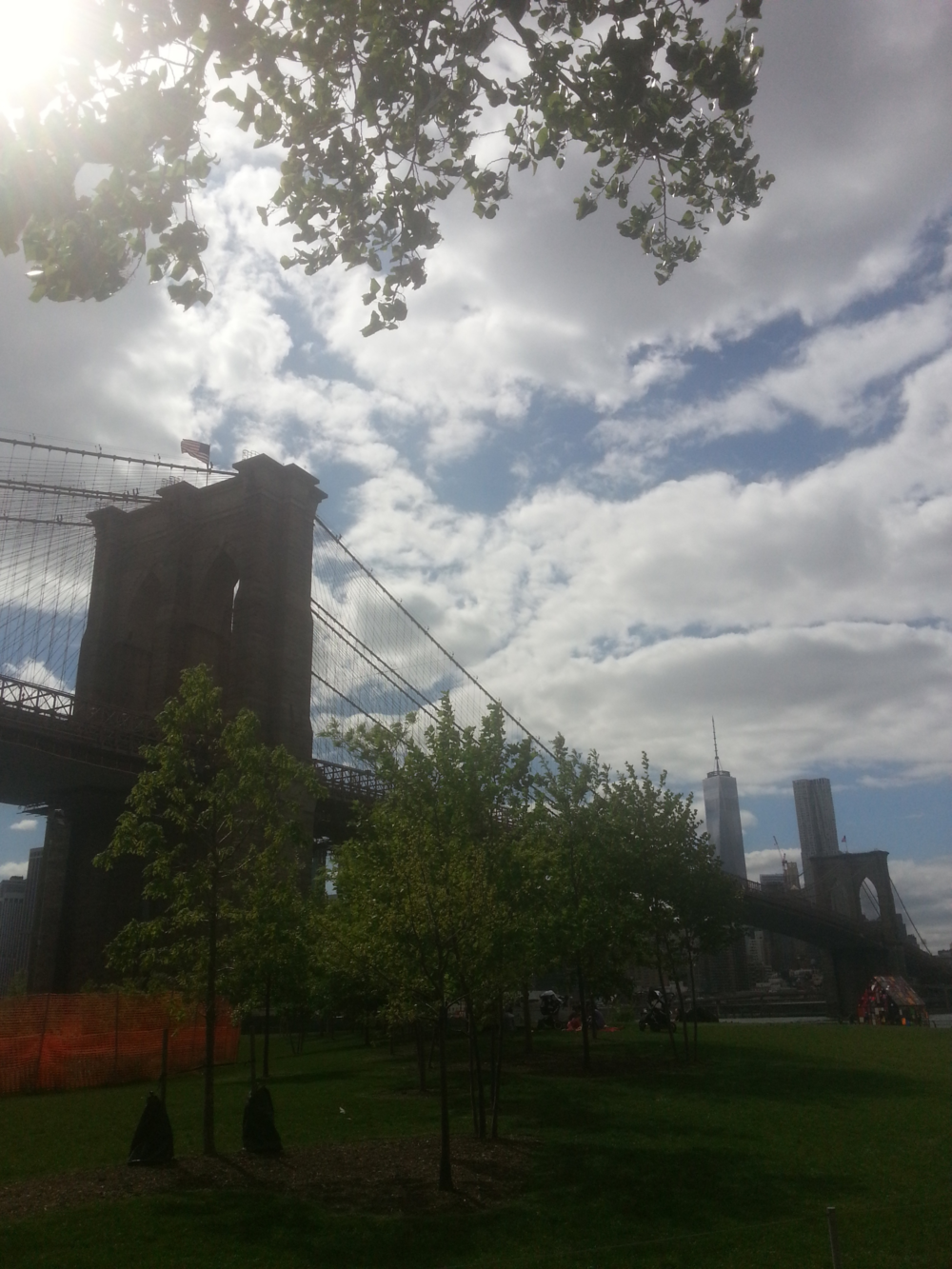 Yeah, the same Brooklyn Bridge you've seen before...