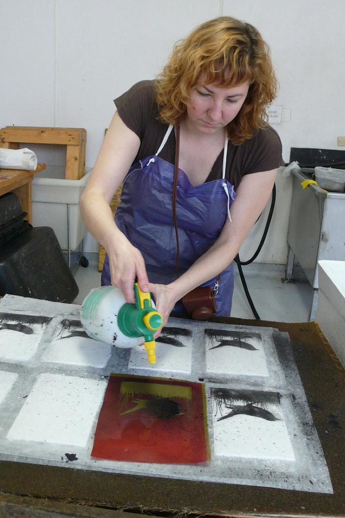 Pulp Printing process 3