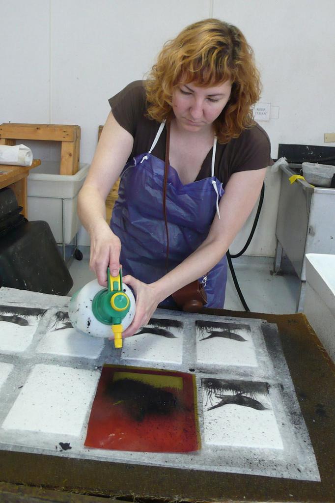 Pulp Printing process 4