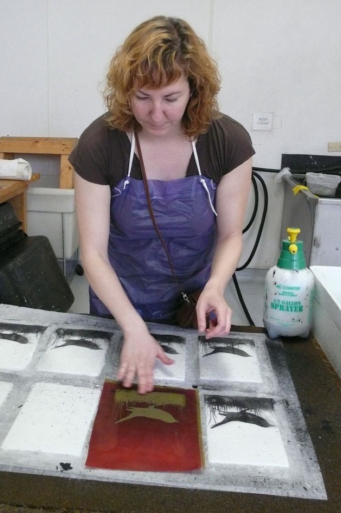 Pulp Printing process 2