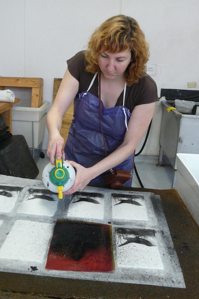 Pulp Printing process 5