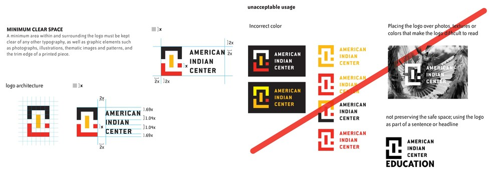 American Indian Center rebrand