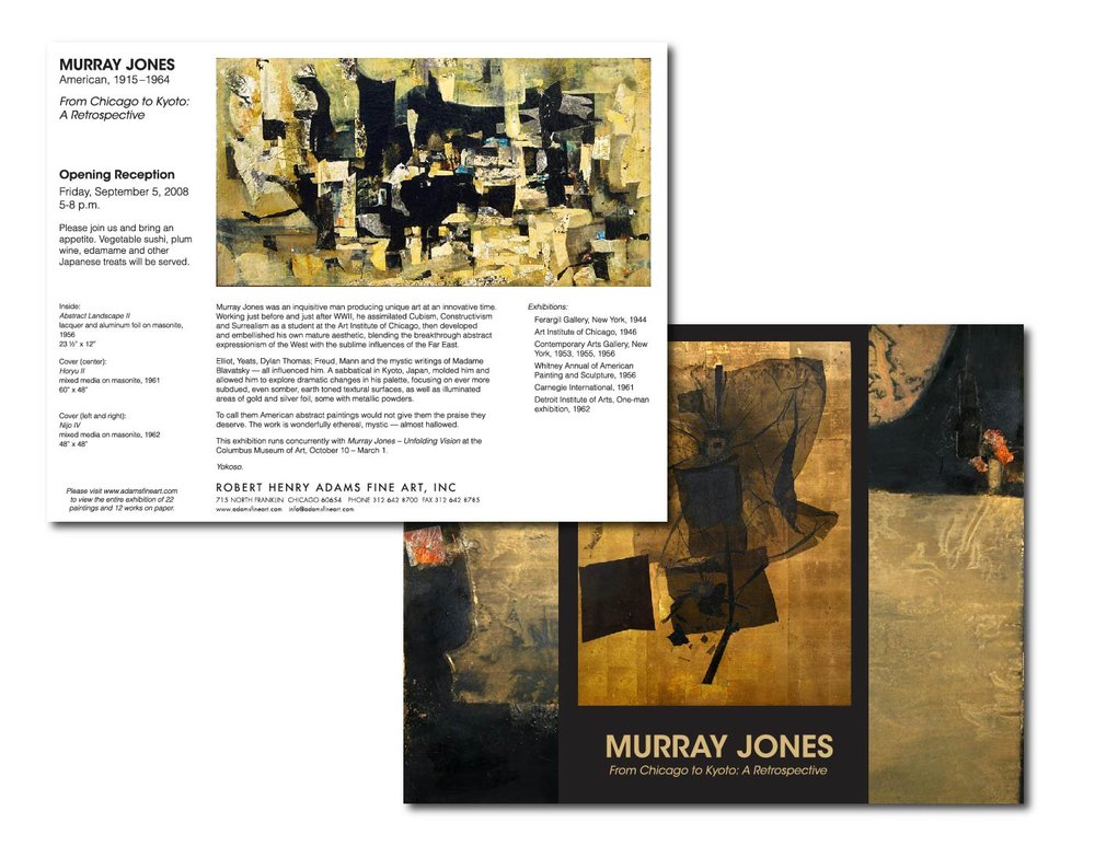 Murray Jones Gatefold Mailer