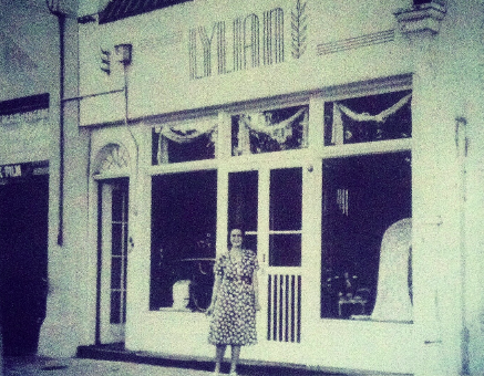 The original Lylian shop, located in the French Quarter.
