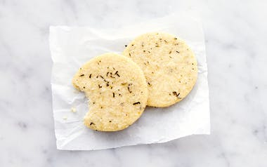 Rosemary Cornmeal Cookie