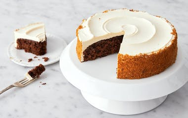 Ginger Cake with Caramel Buttercream