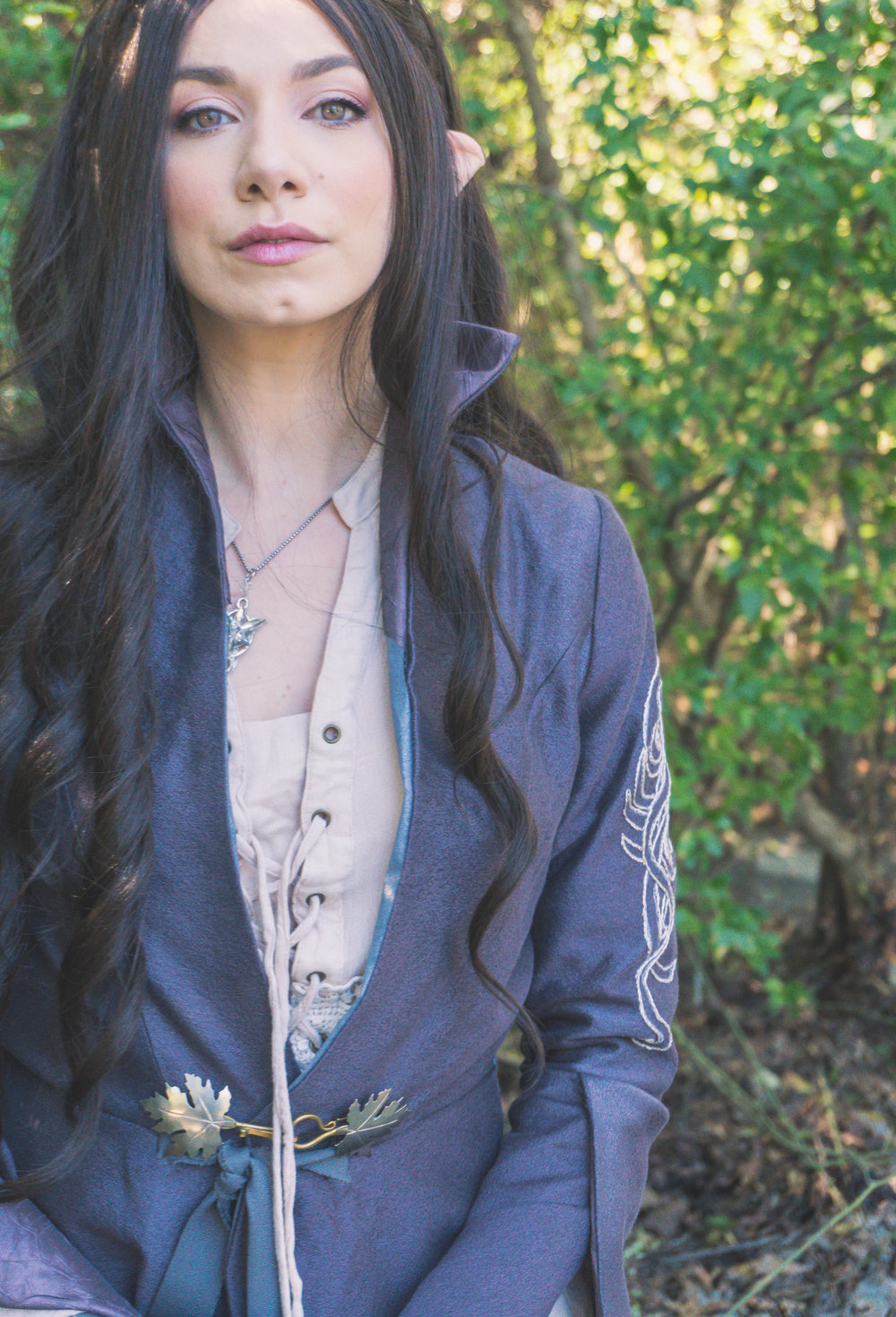 """""""For I am the daughter of Elrond. I shall not go with him when he departs to the Havens: for mine is the choice of Luthien, and as she so have I chosen, both the sweet and the bitter."""" """"It is mine to give to whom I will, like my heart."""""""