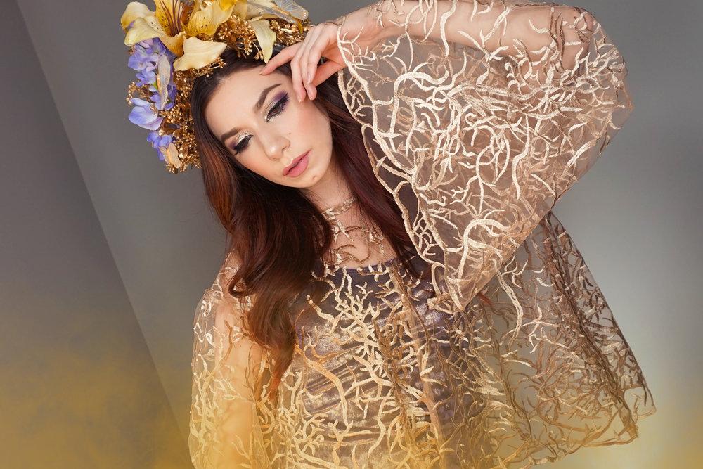 Gilded Daughter of Fae - Original Design