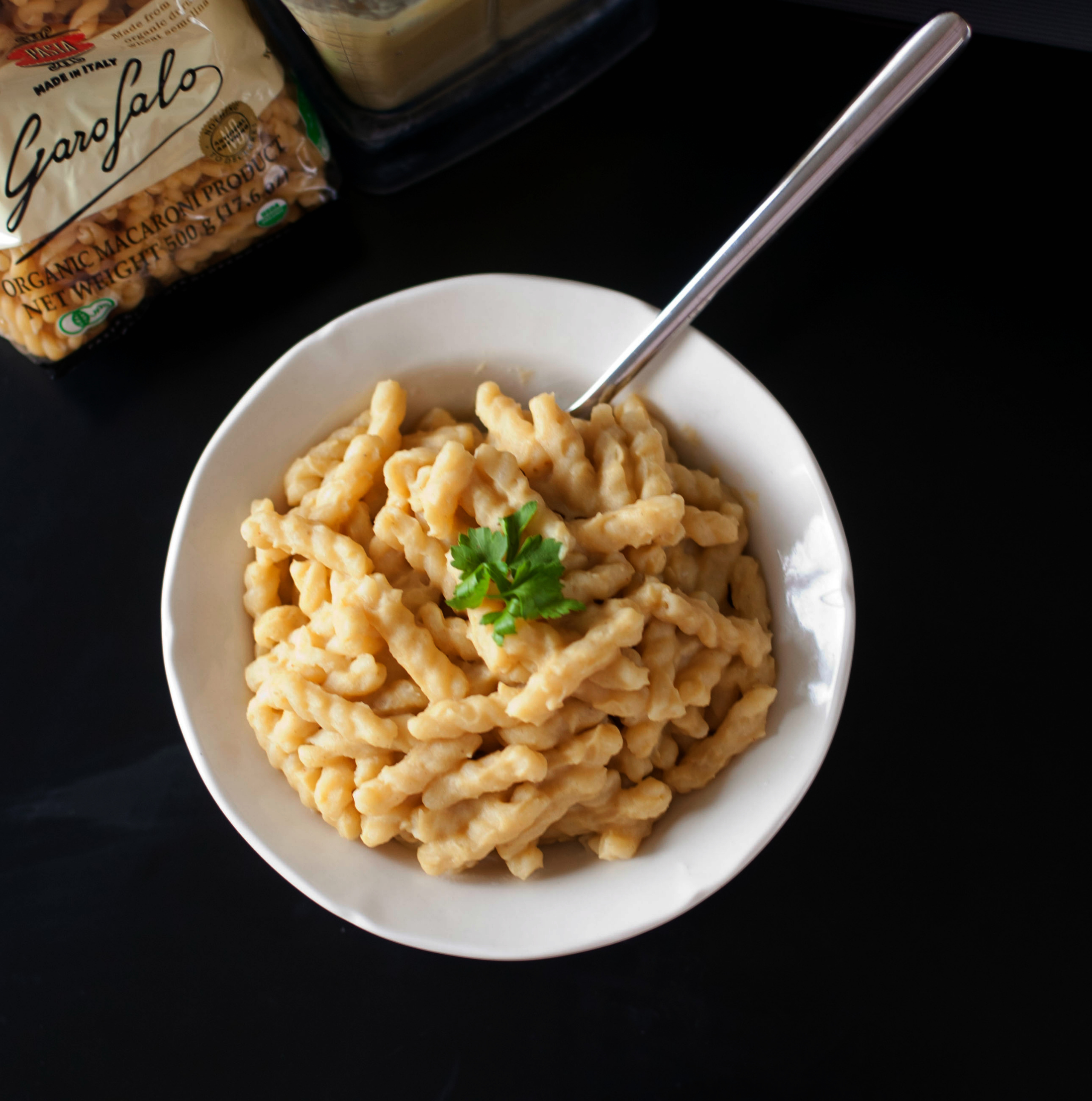 "Produce on Parade: Sweet Potato Mac and ""Cheese"""