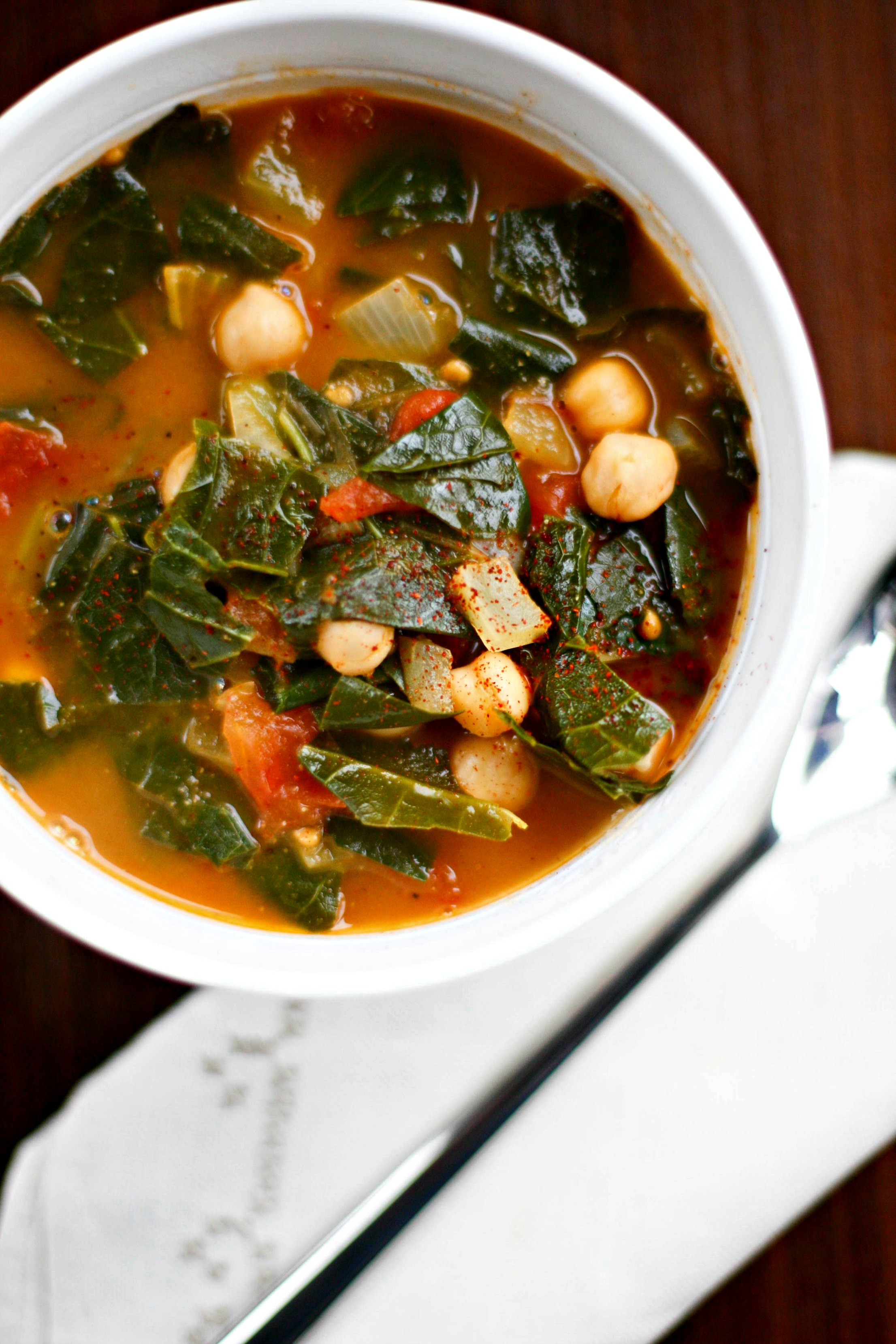 Produce on Parade: A Modest Vegetable Soup