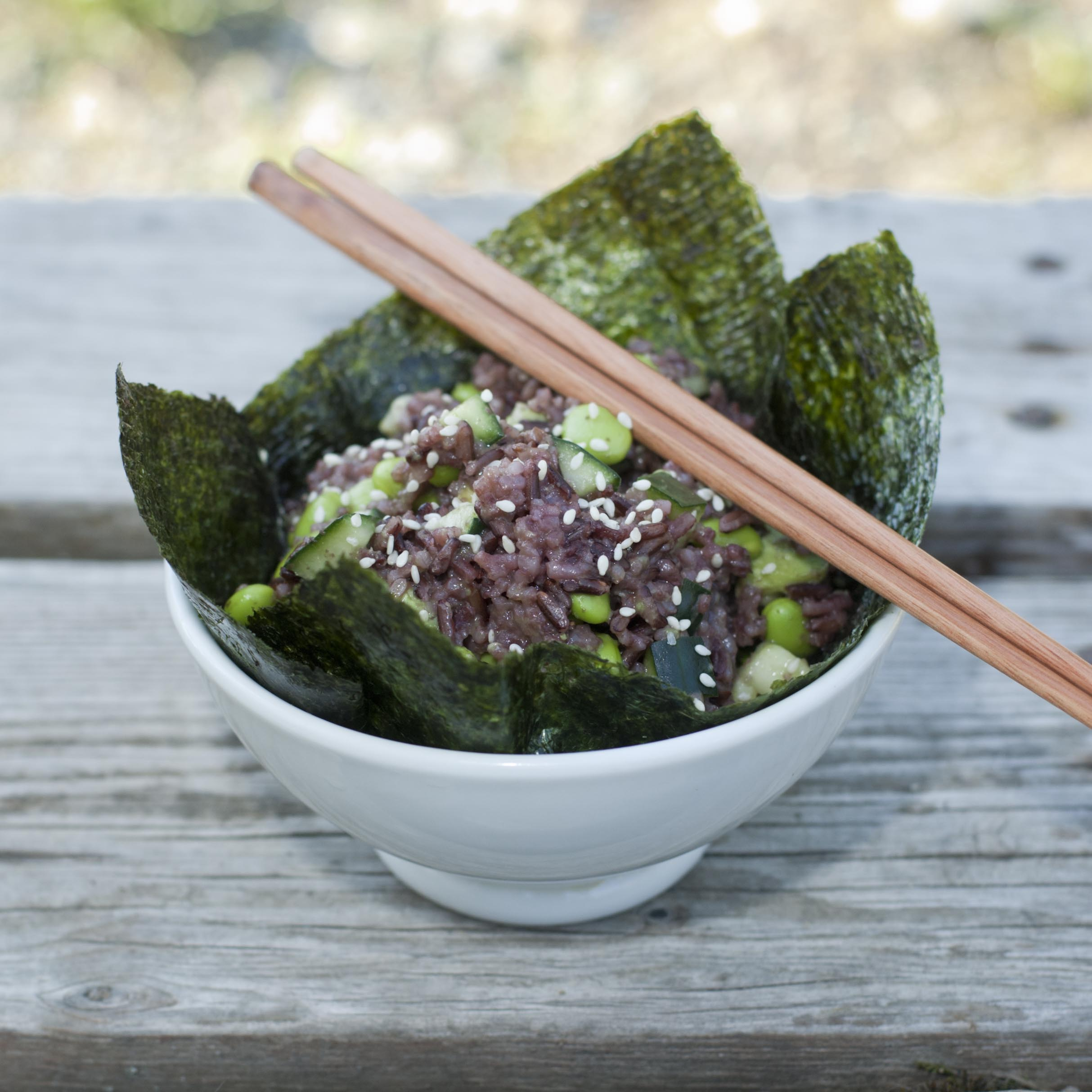 Produce On Parade: Easy Sushi Bowl