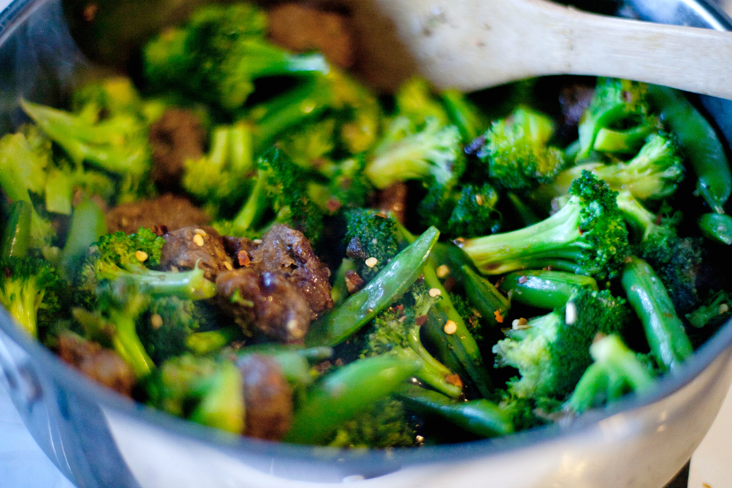 "Produce On Parade: ""Beef"" and Broccoli"