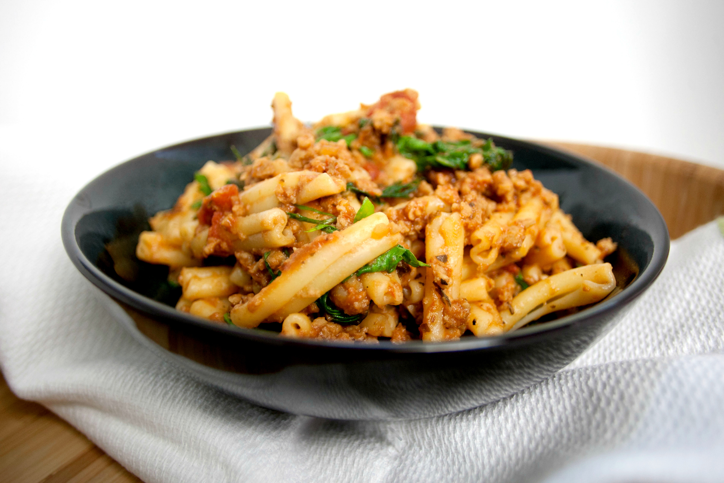 "Produce On Parade: Quick & Easy Pasta with ""Meat"" Sauce"