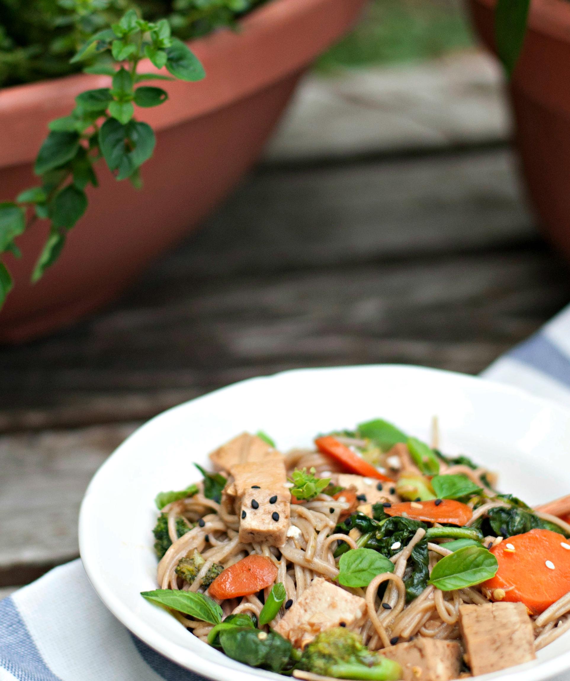 Produce On Parade - Soba Noodle Stir-Fry