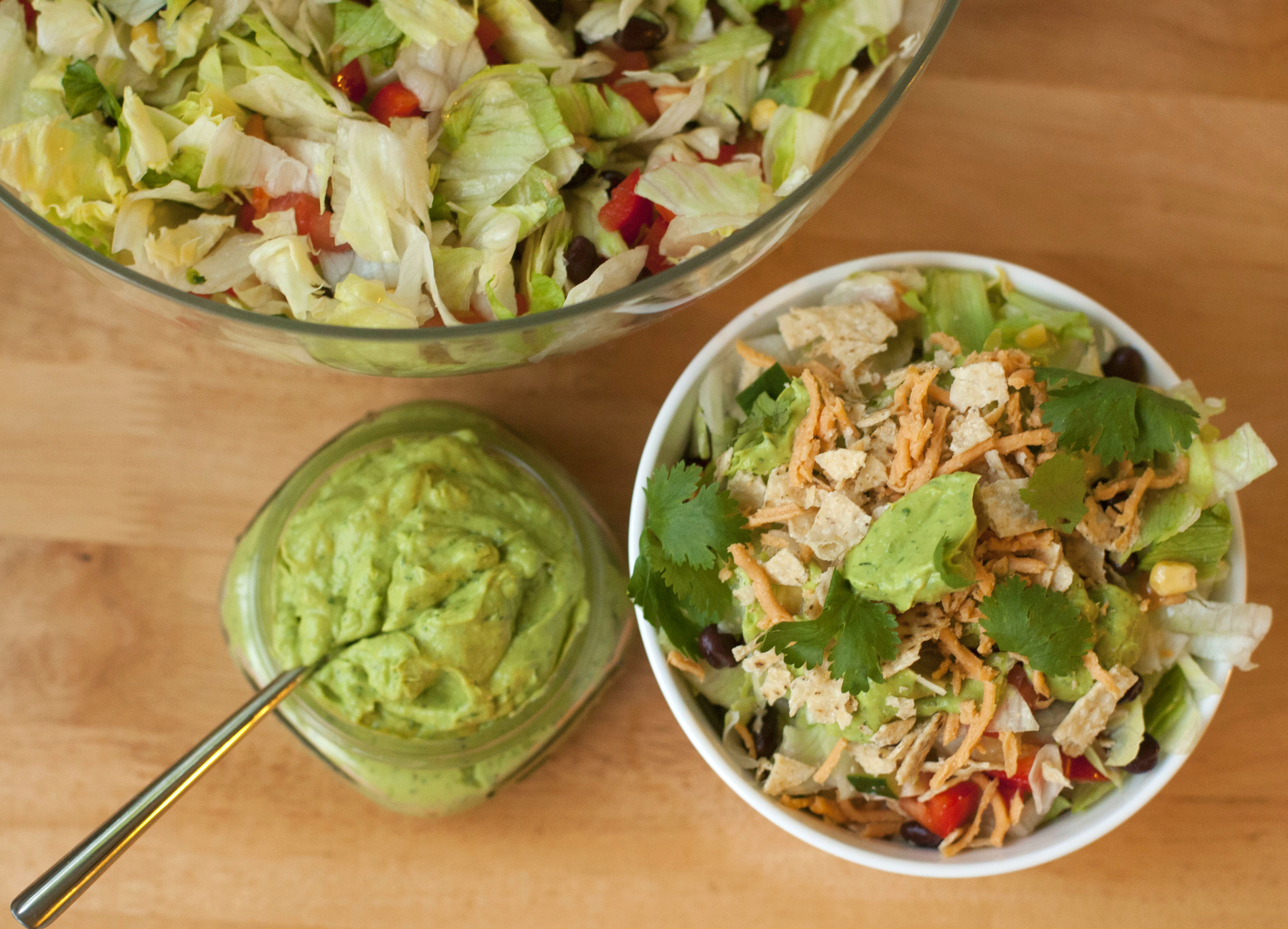 Produce On Parade - Southwestern Avocado Ranch Salad