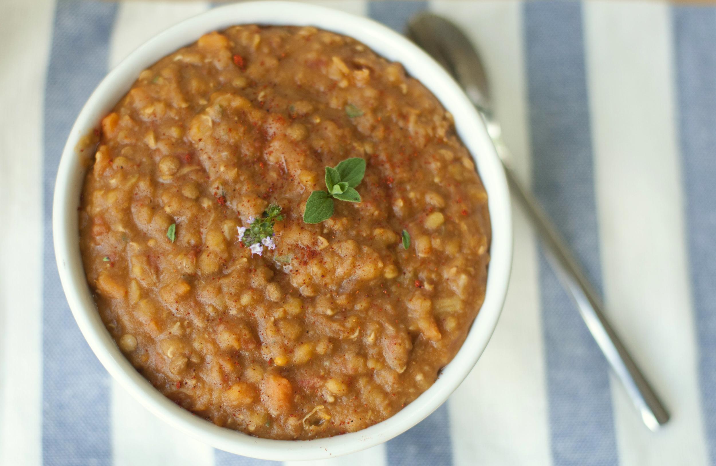 Copycat Amys Lentil Soup Recipe Produce On Parade
