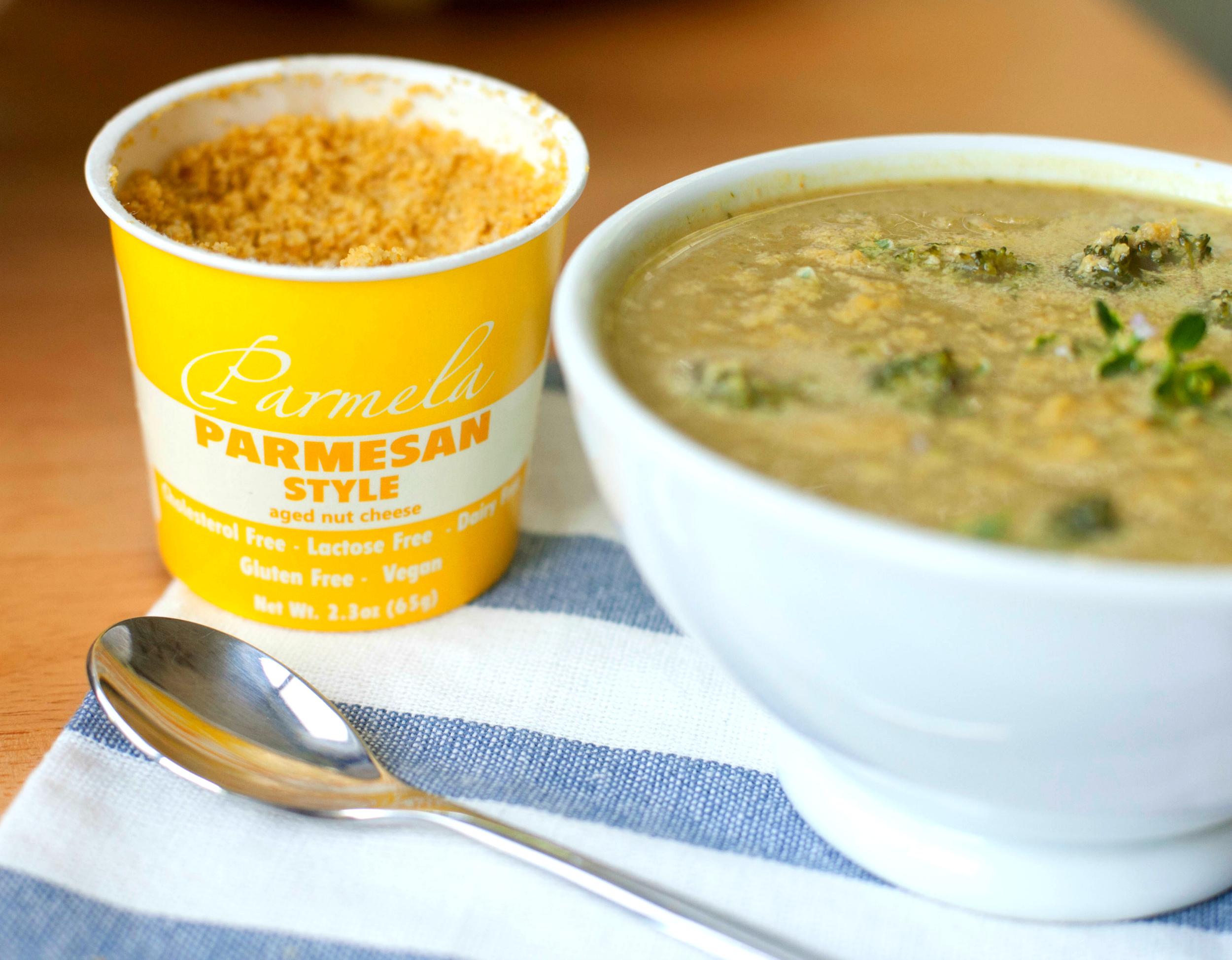 Produce On Parade - Cheesy Broccoli-White Bean Soup