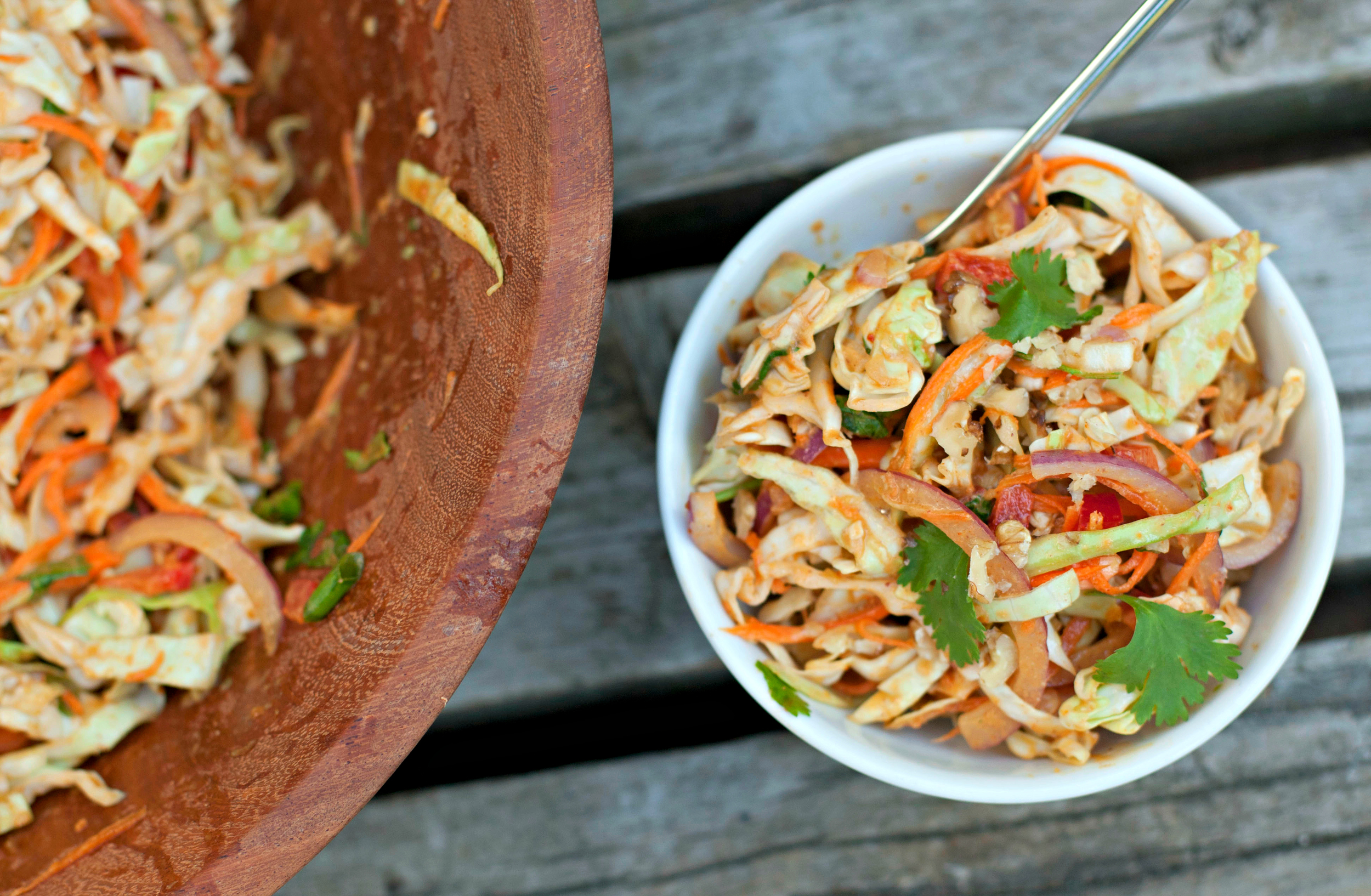 Produce On Parade - Thai Cabbage Salad
