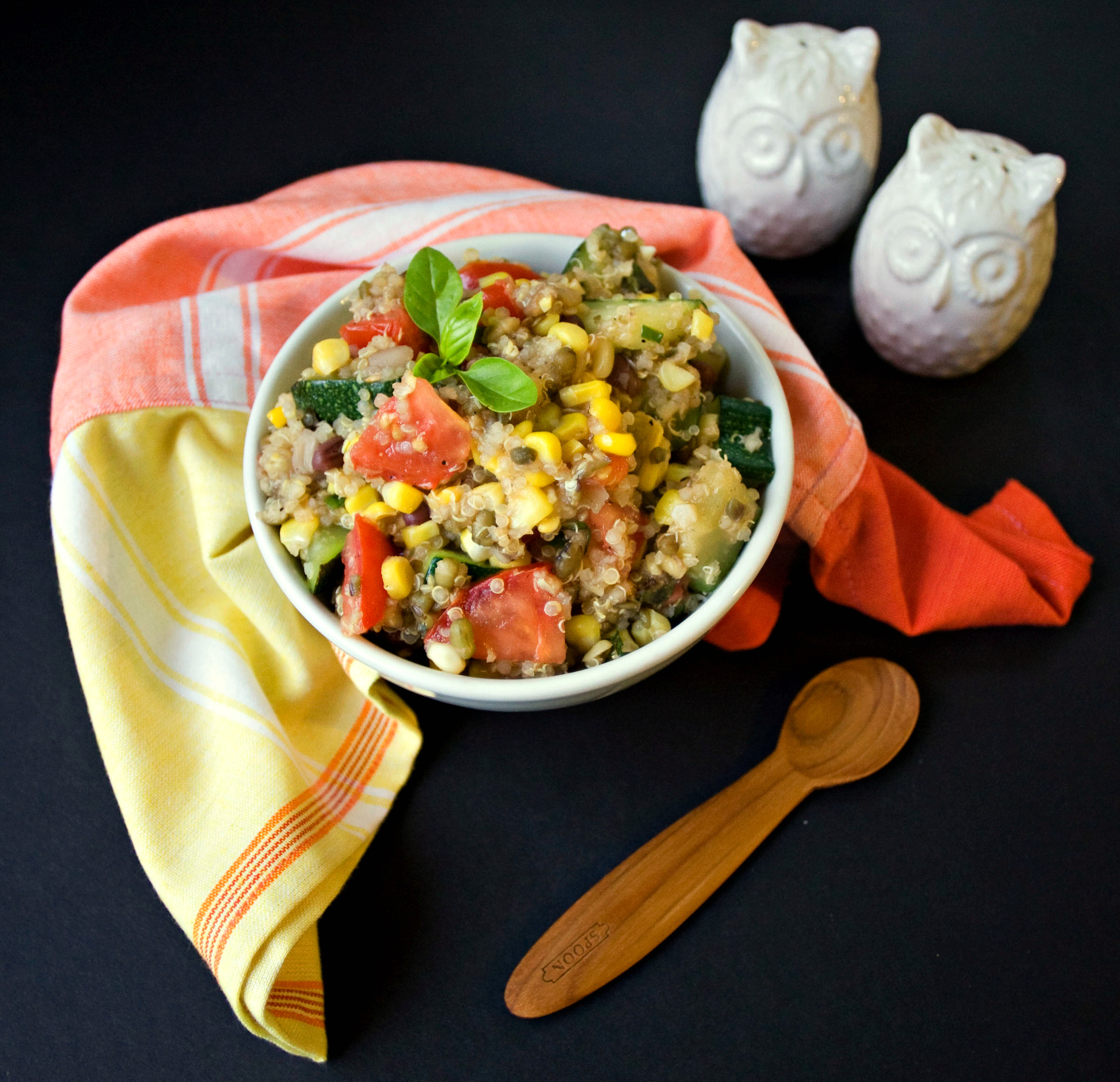 Produce On Parade - Vegetable Quinoa with a Maple Lemon Vinaigrette