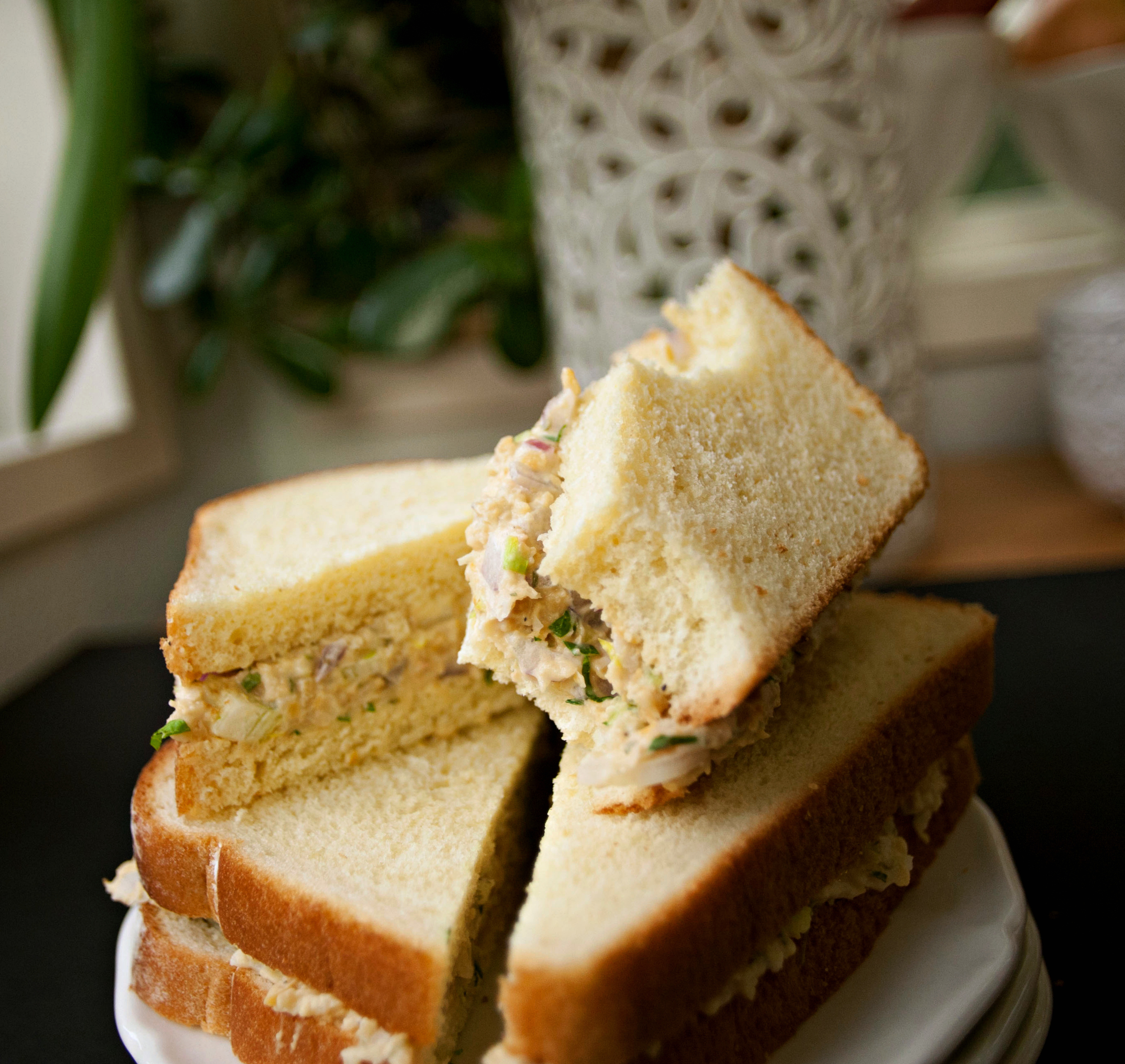"Produce On Parade - ""Tuna"" Salad Sandwiches"