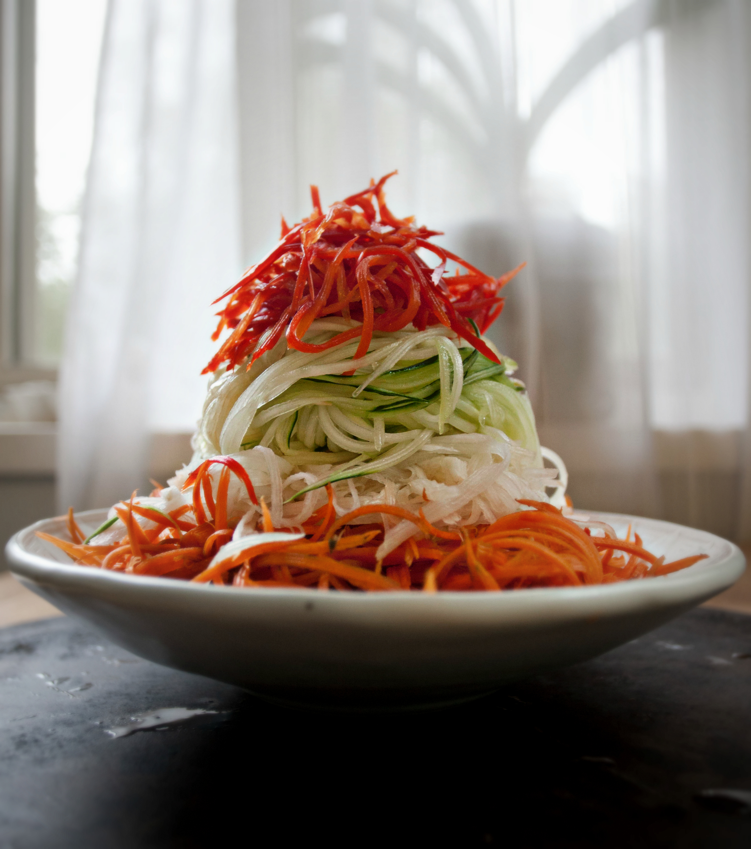 Produce On Parade - Veggie Thai Noodle Salad