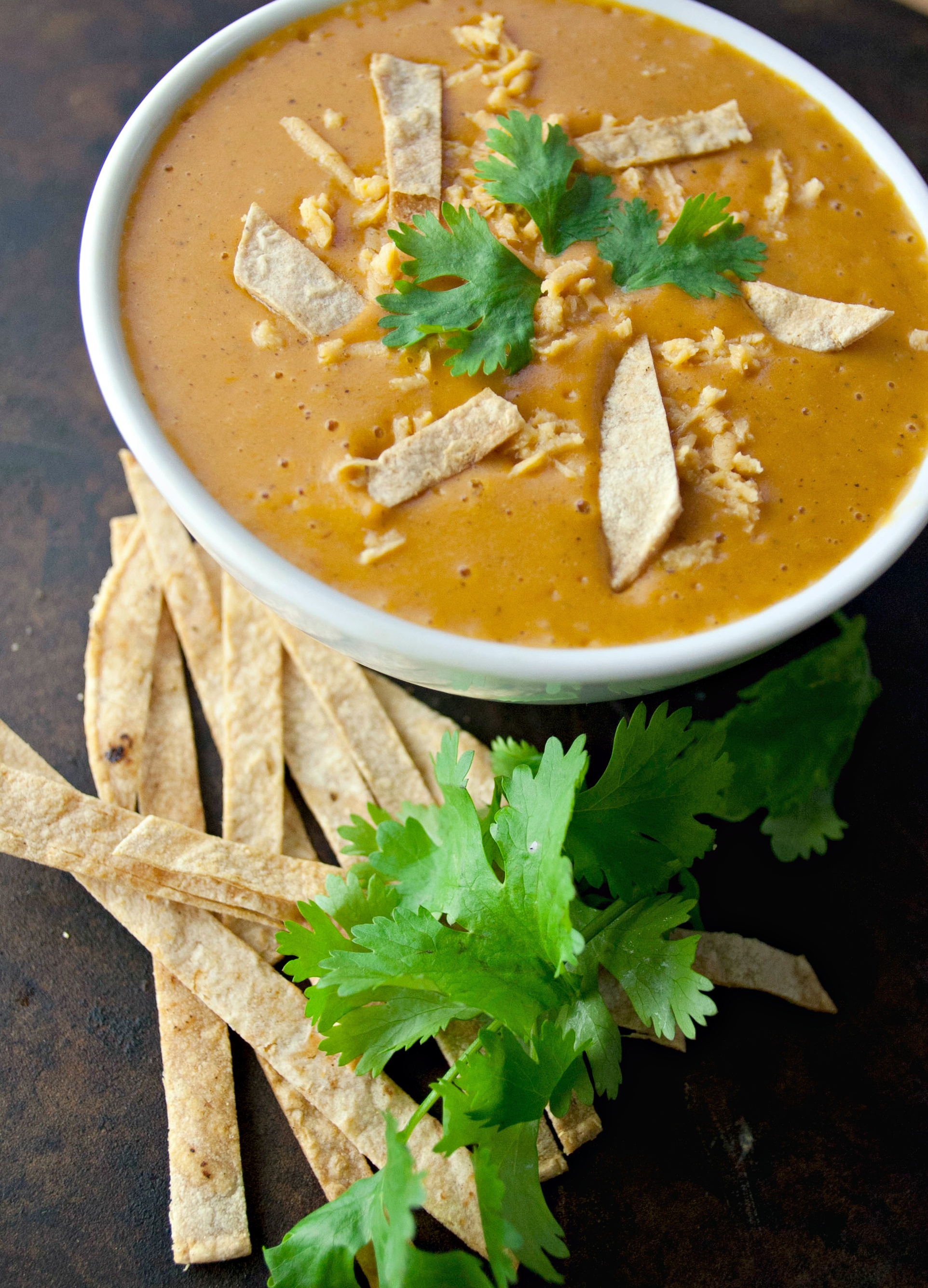 Produce On Parade - Creamy Cheesy Tortilla Soup