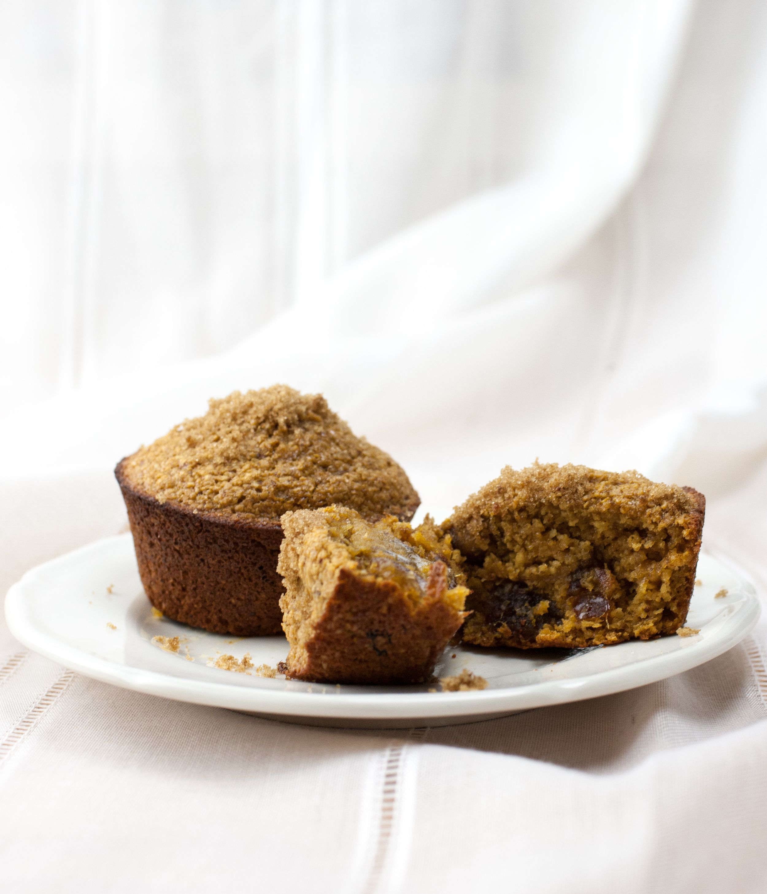 Produce On Parade - Healthy Caramel Oat Bran Muffins