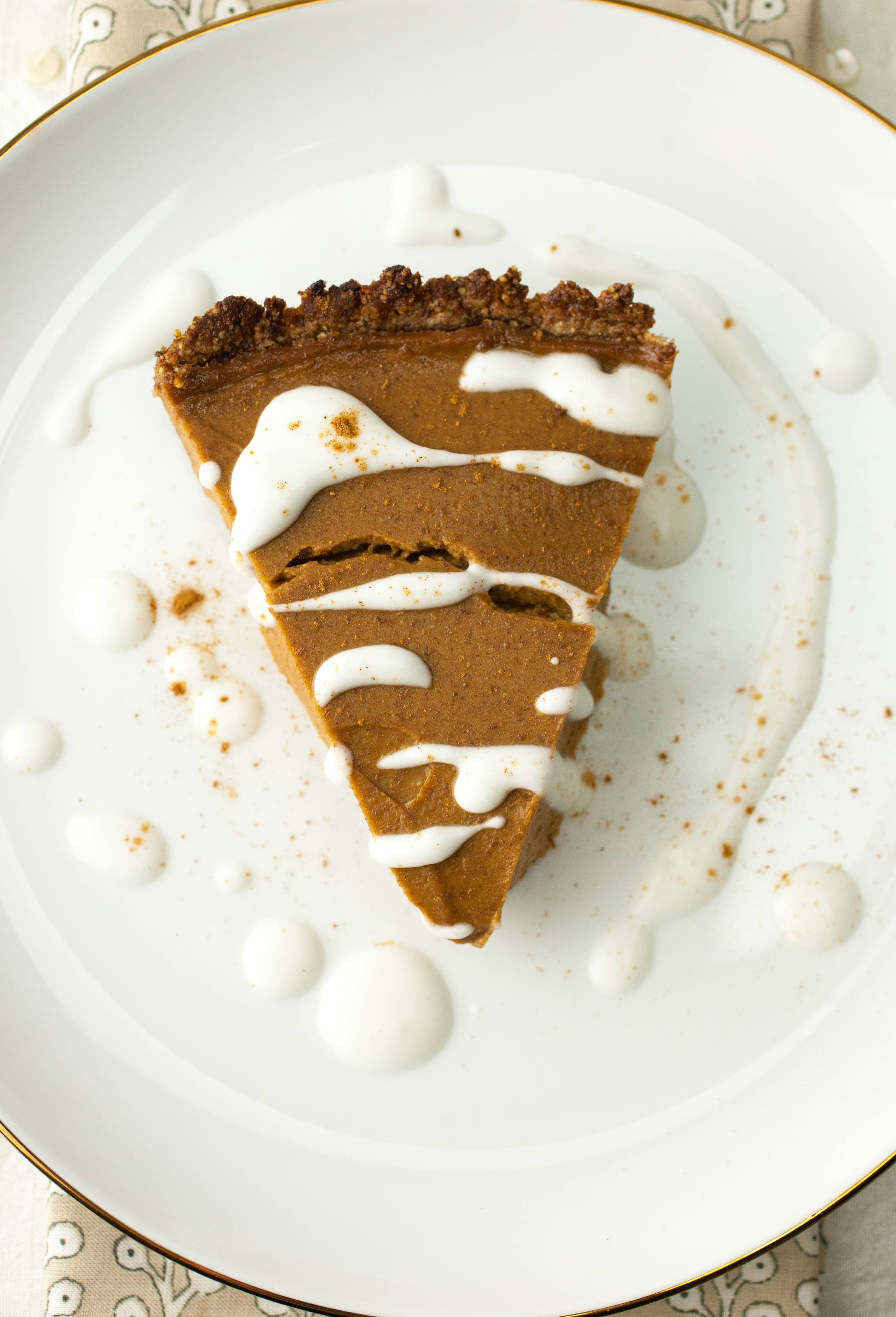 Produce On Parade - Simple & Healthy Pecan Pumpkin Pie