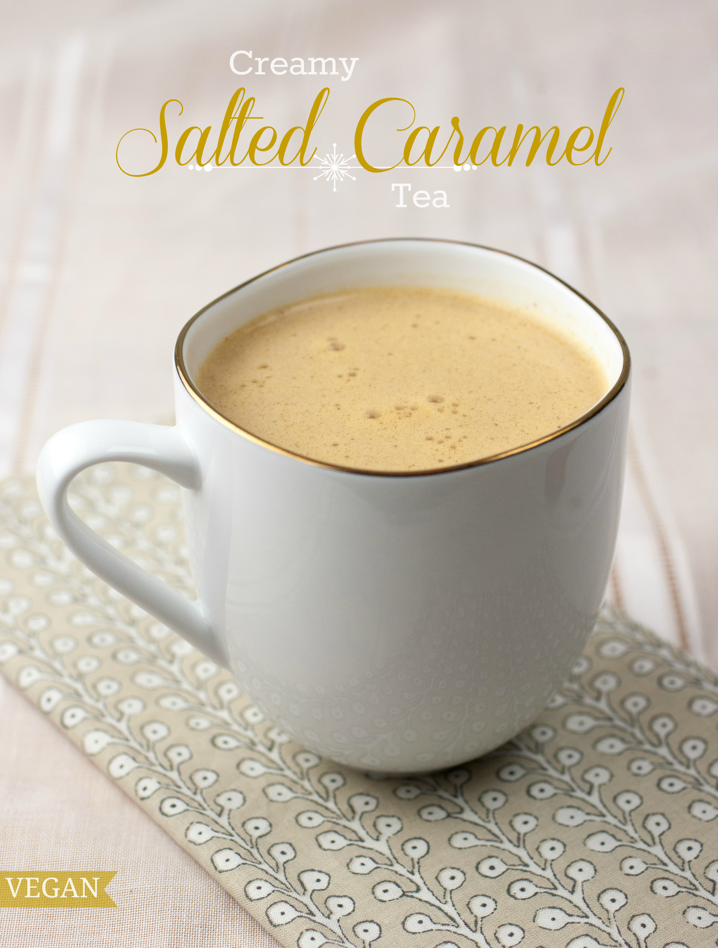 Produce On Parade - Creamy Salted Caramel Tea