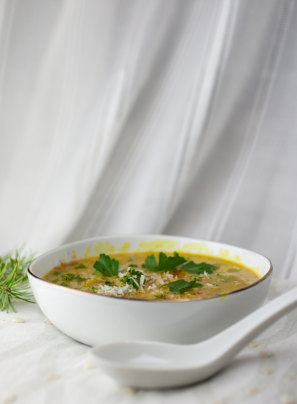 Produce On Parade - Creamy Spiced Coconut Lentil Soup