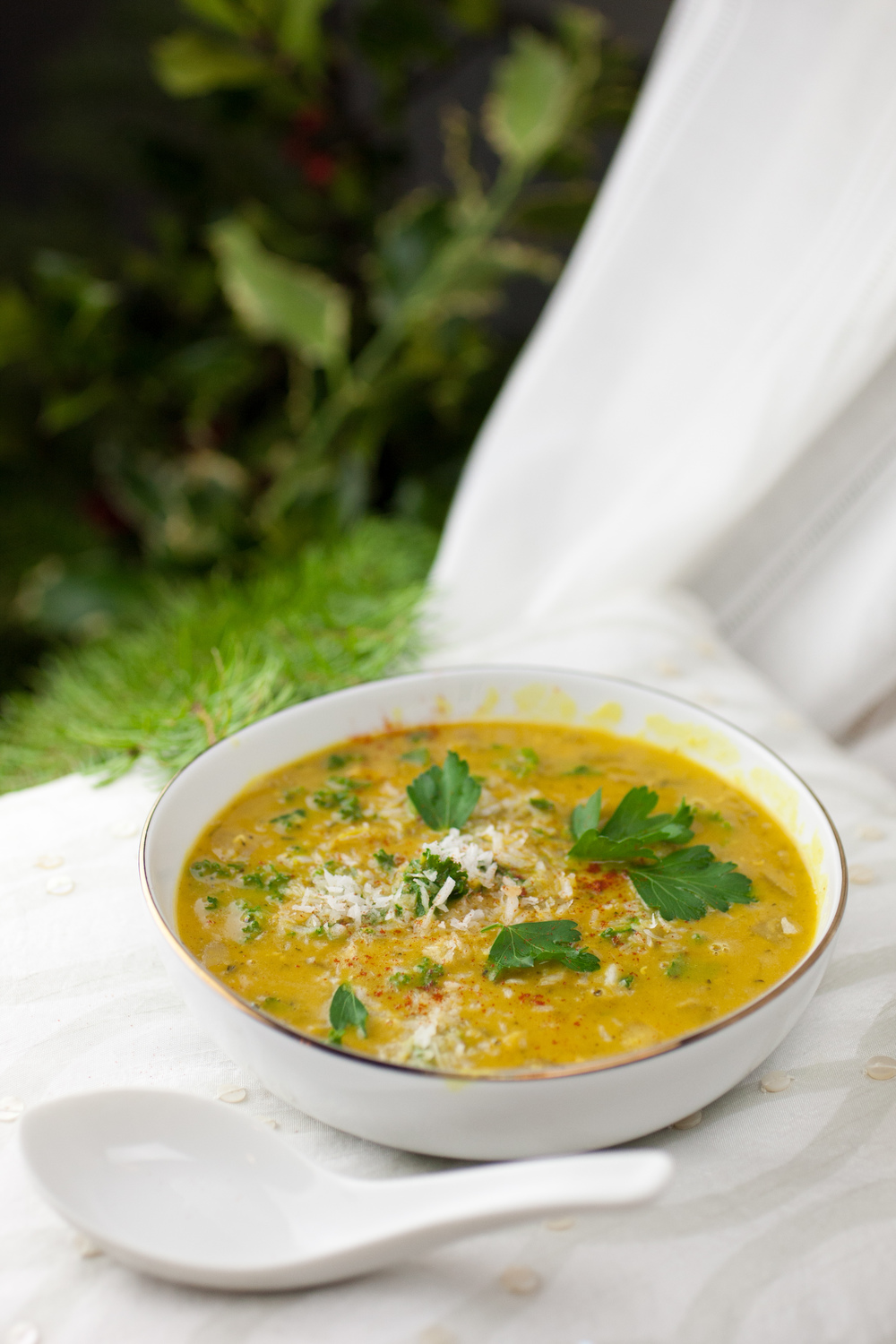 Creamy Spiced Coconut Lentil Soup — Produce On Parade