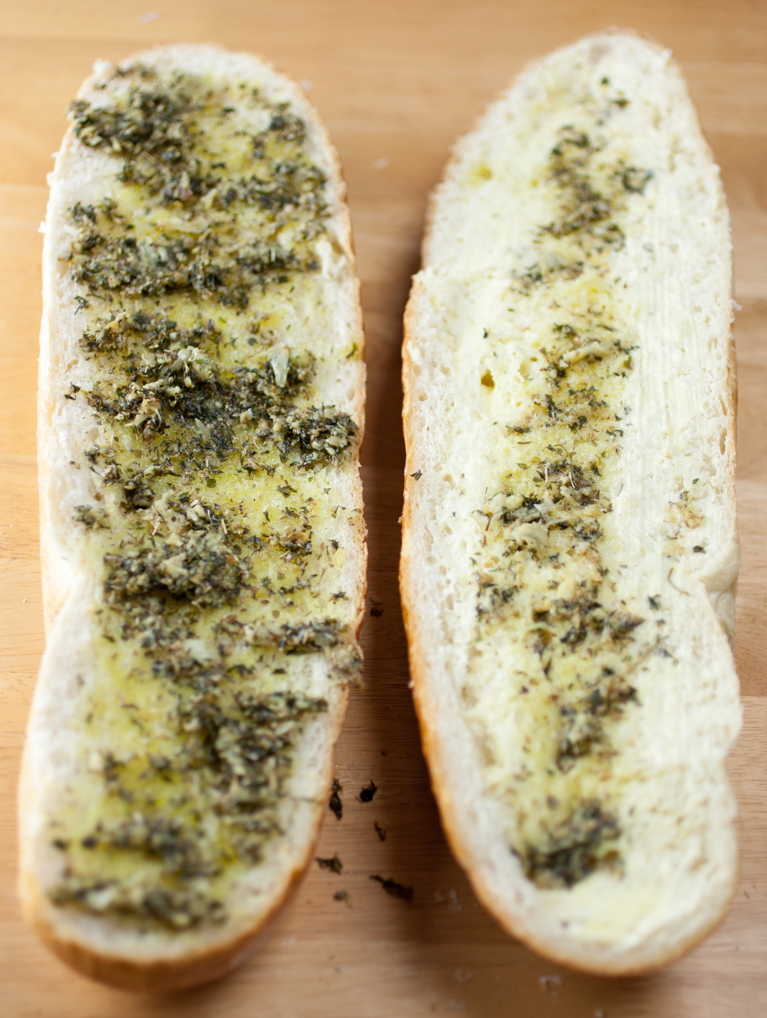 Produce On Parade - Easy Herbed Garlic Bread