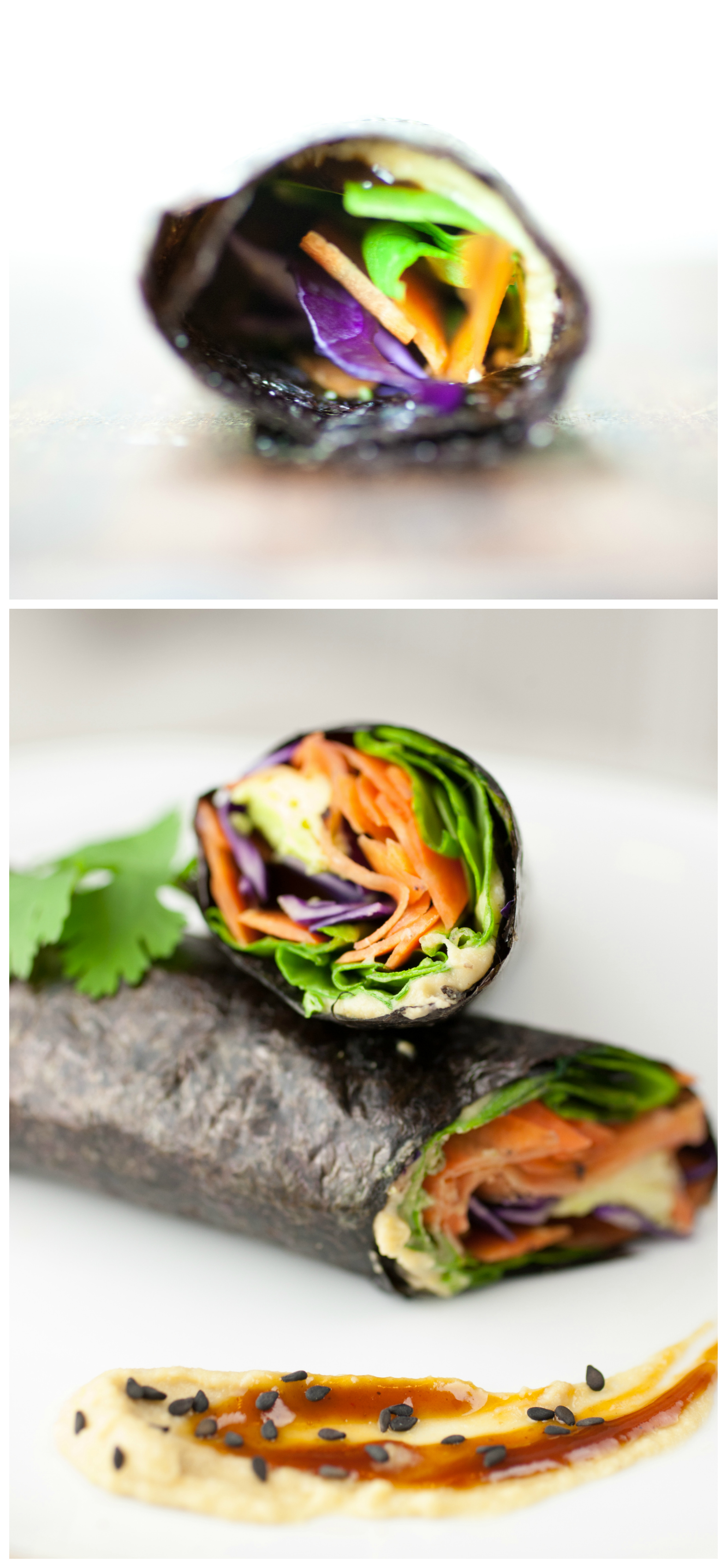 Produce On Parade - Easy Fusion Nori Veggie Wraps