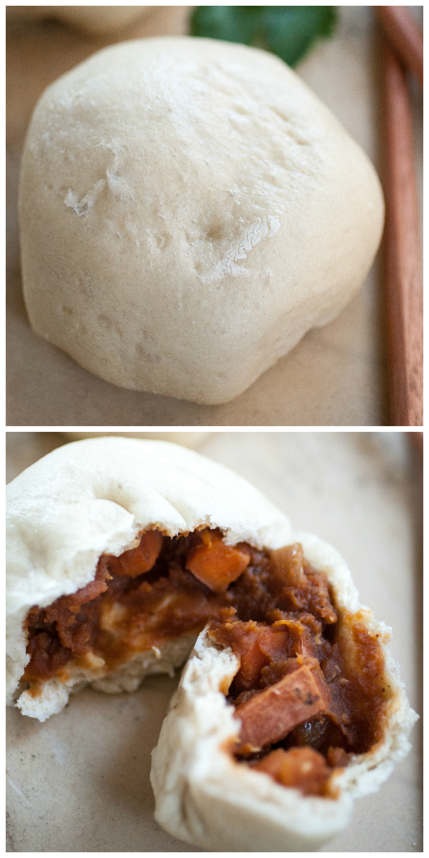 Produce On Parade - BBQ Lentil Baozi