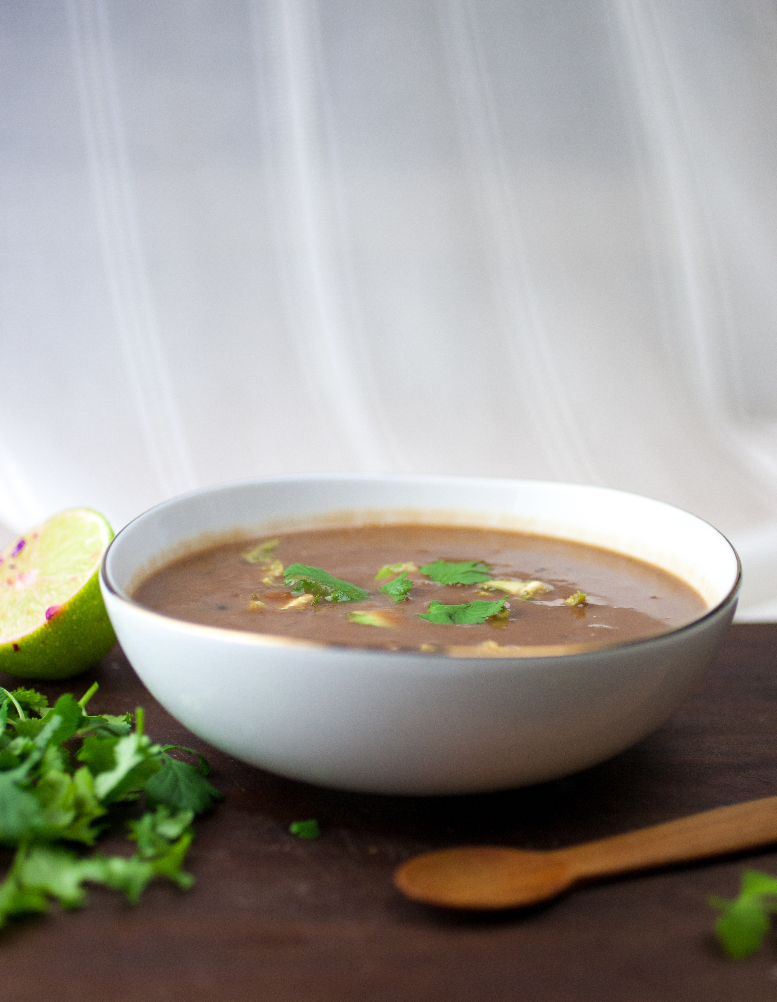 Produce On Parade - Black Bean & Sweet Potato Superfood Soup