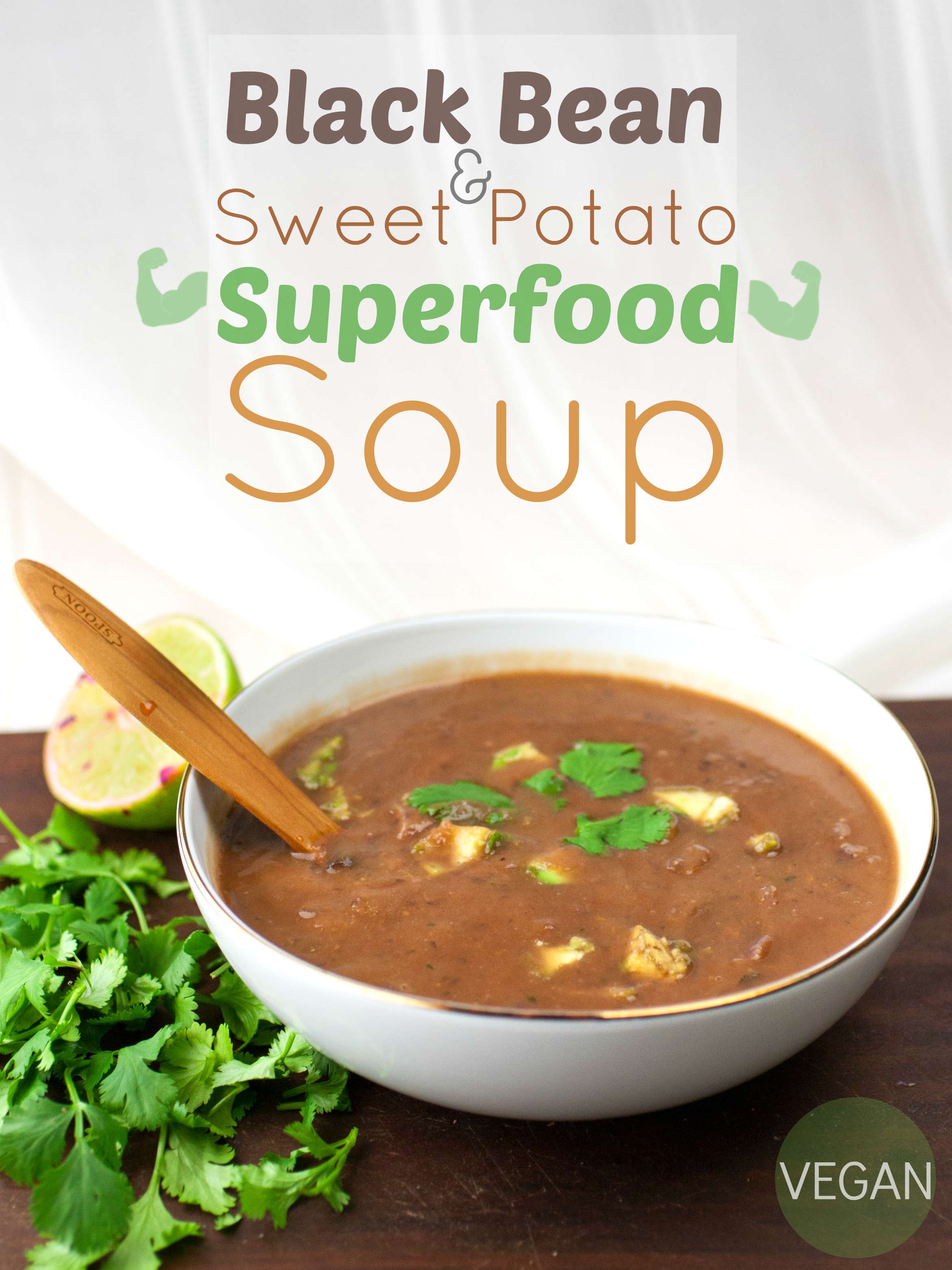 ... Black beans, sweet potato, and red cabbage all make a superfood star